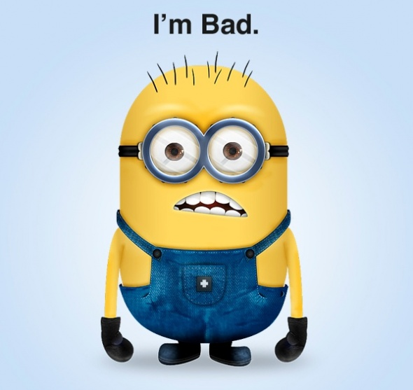 Minion Clip Art http://www.tutorialking.eu/1579/create-a-acirc;%E2%82%AC%C5%93minion-acirc;%E2%82%AC%20-character-from-the-despicable-me-movie.html