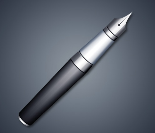 How To Create A Realistic Fountain Pen Photoshop