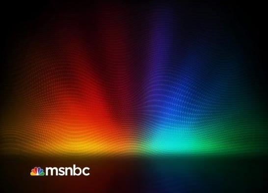 MSNBC New Background Design in Photoshop