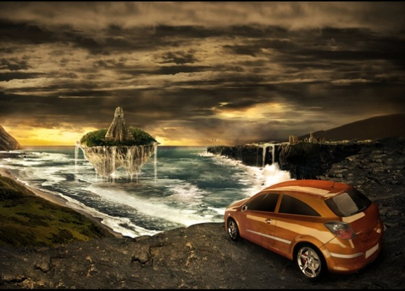 Awesome How To Create A Fantasy Atmosphere Style Car Ad