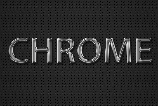 Photoshop tutorial: how to create a chrome text effect in under 10.