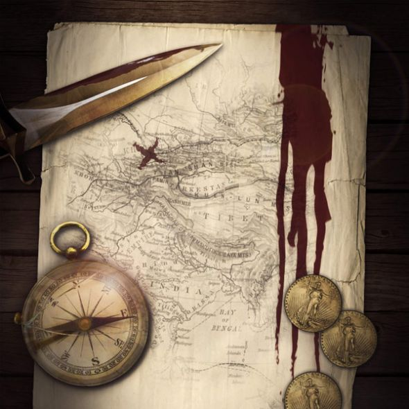 create an authentic looking pirate treasure map photoshop