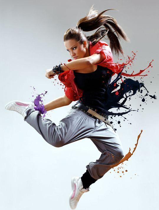 The Dancer Create A Dynamic Liquid Splash Effect